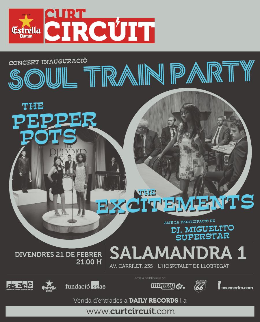 El soul de The Pepper Pots i The Excitements inauguren el Curtcircuit'14 el 21 de febrer