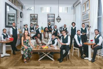 The Gramophone Allstars Big Band + The Rigodonians